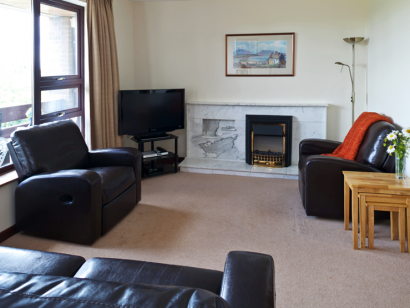Dargle 3 living room - Fitzpatrick Castle self-catering Holiday homes
