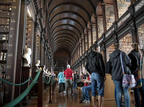 Trinity College Old Library - Fitzpatrick Castle attractions