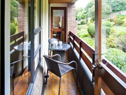 Boyne 2 balcony - Fitzpatrick Castle Self-catering Holiday Homes