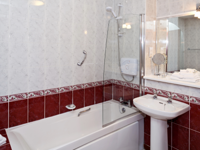 Dargle 1 bathroom 2 - Fitzpatrick Castle self-catering Holiday homes