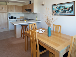 Dargle 2 dining room - Fitzpatrick Castle self-catering Holiday homes