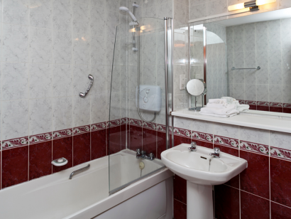Dargle 2 bathroom 2 - Fitzpatrick Castle self-catering Holiday homes