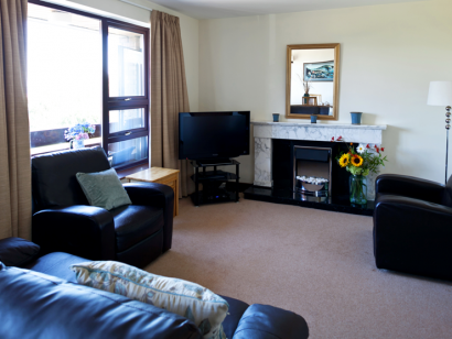 Dargle 2 living room 2 - Fitzpatrick Castle self-catering Holiday homes