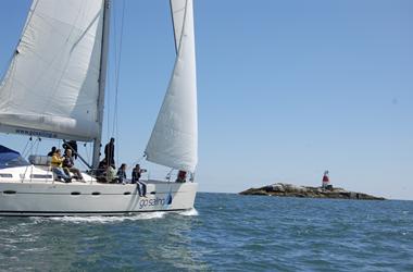 Sailing near Dalkey Island - Fitzpatrick Castle Holidays
