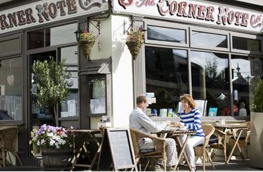 Corner cafe - Fitzpatrick Castle Holidays